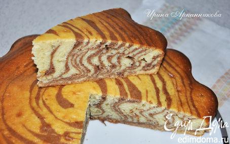 Рецепт Мраморный кекс