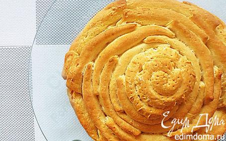 Рецепт Хлеб с начинкой из феты и оливок