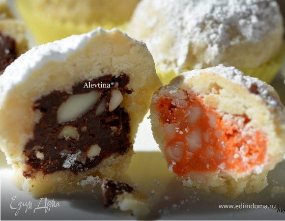 Десерт с орехом Макадамия