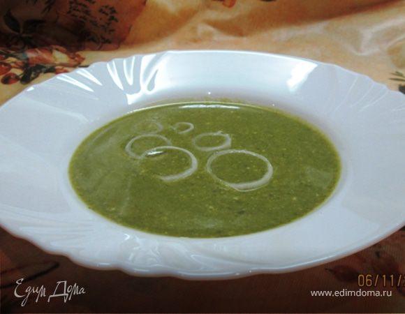 Суп из шпината «Чемпион» (почти олимпийский)