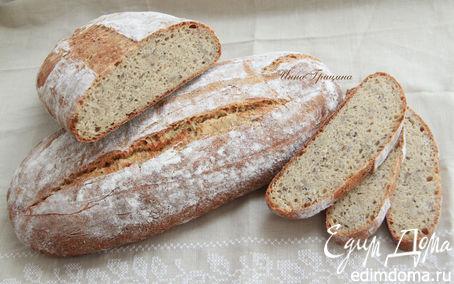 Рецепт Мультизлаковый хлеб с семечками от Ришара Бертине