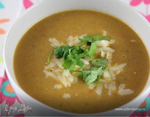 Суп-пюре из тыквы и баклажанов