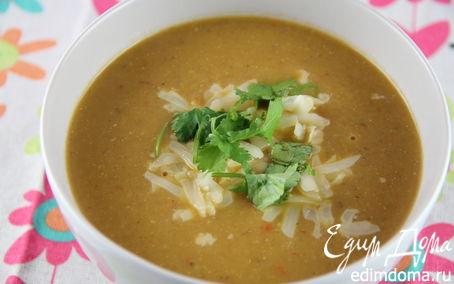 Рецепт Суп-пюре из тыквы и баклажанов