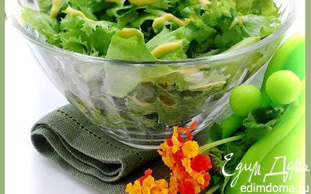 Рецепт Салат из латука