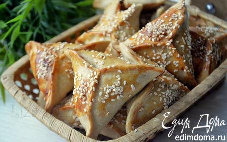 Рецепт Мини-самосы (пирожки) с бараниной и овощами