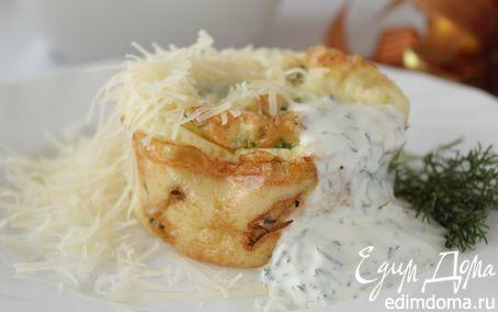 Рецепт Запеченная рыба со сметанным соусом