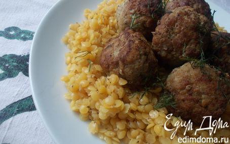 Рецепт Котлеты из баранины с кабачком и чечевицей