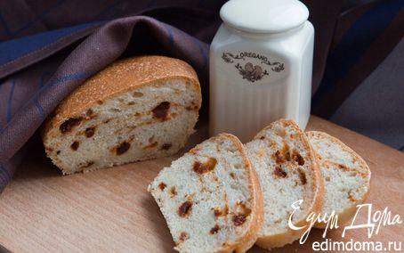 Рецепт Хлеб с вялеными томатами и каперсами