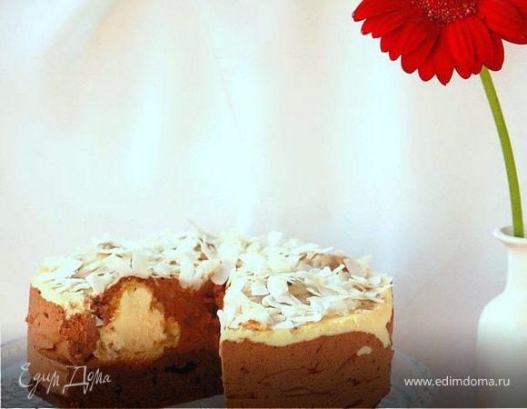 """Шоколадно-ванильный торт """"Исполнение желаний"""""""