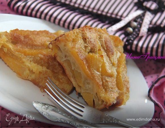 Фламандский грушевый пирог
