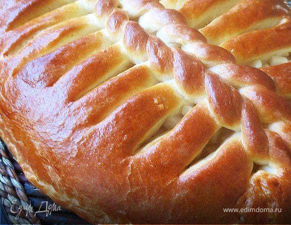 Яблочный пирог постный  Рецепт с фото на Готовим дома