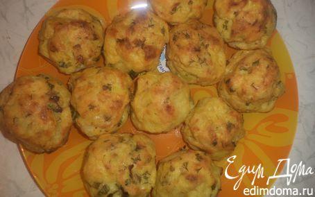 Рецепт Пряные картофельные пышки