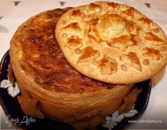 Итальянский мясной пирог Timbale