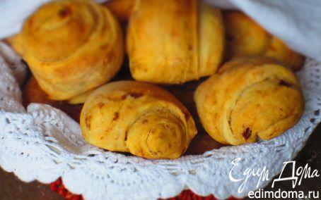 Рецепт Булочки с вялеными помидорами