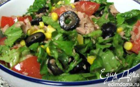 Рецепт Итальянский салат с тунцом