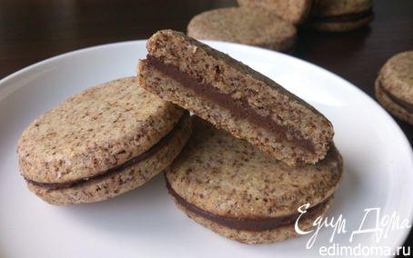 Рецепт Шоколадное печенье с кремом