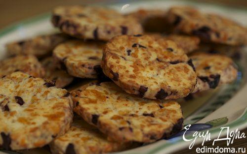 Рецепт – Сырное печенье с маслинами
