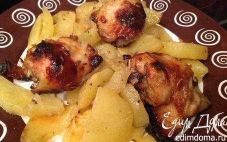 Рецепт Пряная курочка с картофелем