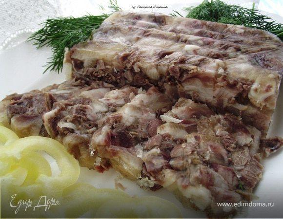Сальтисон из свиной головы - мясная закуска
