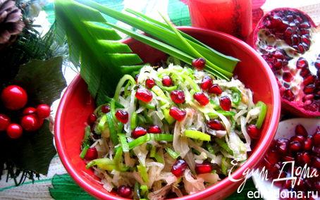 Рецепт Салат из квашеной капусты