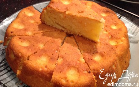 Рецепт Мандариново-творожный кекс