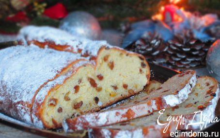 Рецепт Рождественский штоллен