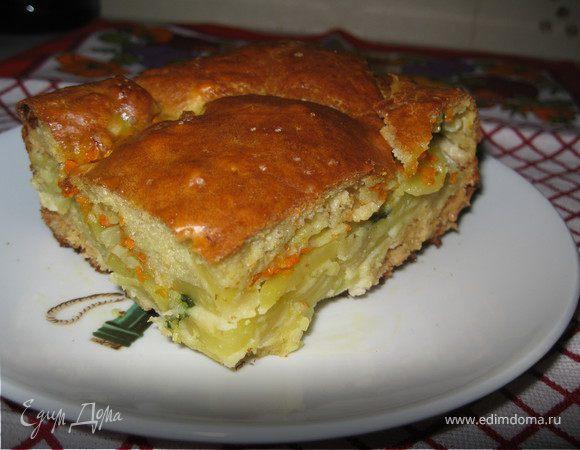 Домашний картофельный пирог