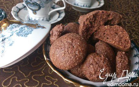 Рецепт Орехово-шоколадное печенье