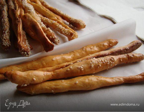 Праздничные хлебные палочки