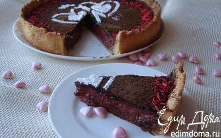 Рецепт Пирог с барбарисом и калиной