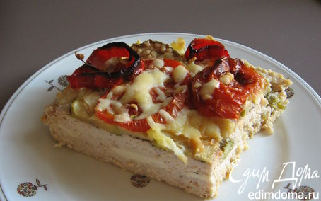 Рецепт Мясная запеканка с фетой и овощами