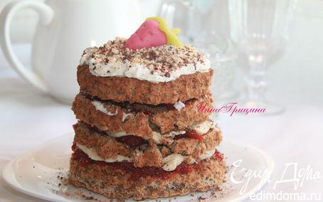 Рецепт Датский ржаной торт