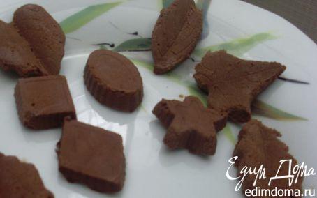 Рецепт Замороженные шоколадные конфеты без сахара