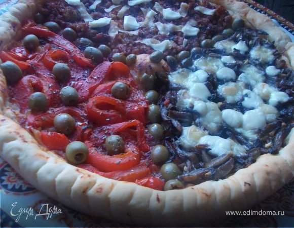 """Пицца """"Три начинки"""" на любой вкус"""