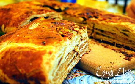 Рецепт Греческий слоеный пирог