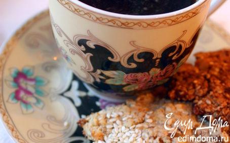 Рецепт Орехово-овсяное печенье (а-ля гранола)