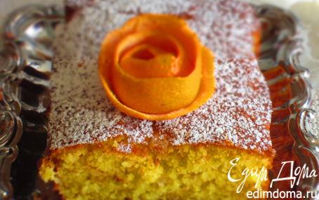 Рецепт Кекс с апельсиновыми цукатами на рисовой муке