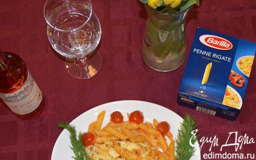 Рецепт Пенне с куриной грудкой и овощами