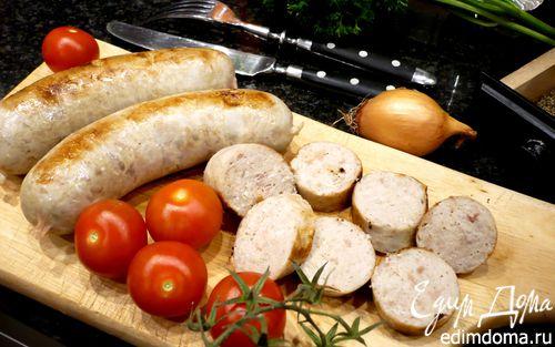 Рецепт Домашние куриные сосиски «Если друг оказался вдруг...»