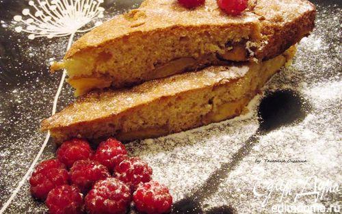 Рецепт Французский кекс с персиками