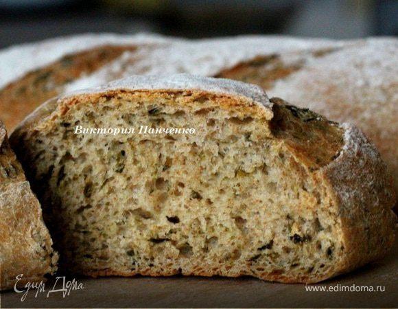 Хлеб с водорослями от Ришара Бертине