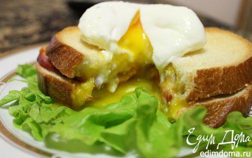 Рецепт Бутерброд с яйцом пашот