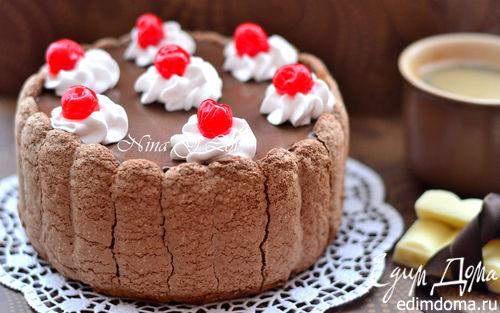Рецепт Шоколадный тирамису с вишневым ликером