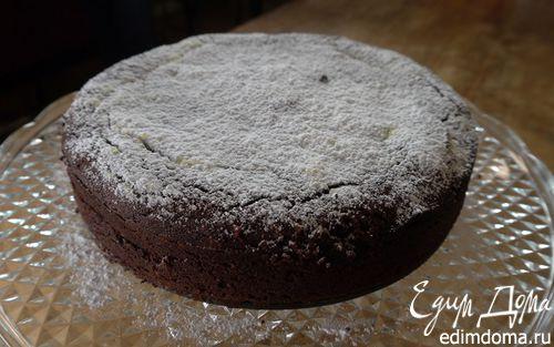 Рецепт Шоколадно-миндальный пирог на маскарпоне