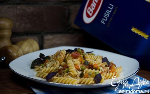 Рецепт Фузилли с овощным соусом