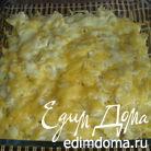 Грибы в сливочном соусе под шубой из фарфалле
