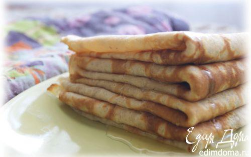 Рецепт Блинчики из гречневой муки с коньяком