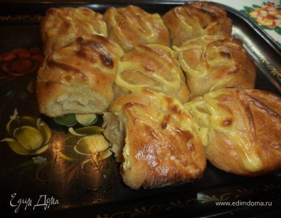 """Картофельный хлеб (""""Я его слепила из того, что было"""")"""