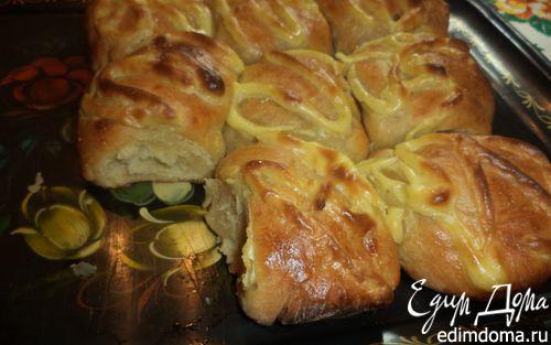 """Рецепт Картофельный хлеб (""""Я его слепила из того, что было"""")"""