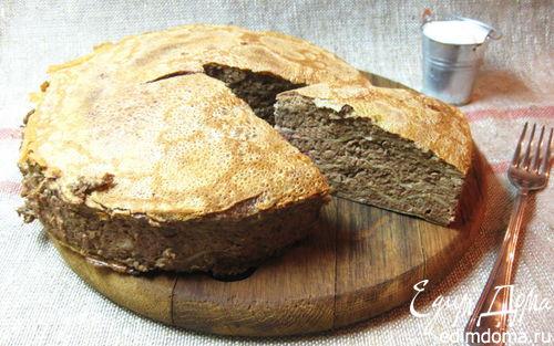 Рецепт Печеночный блинный торт